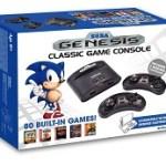 Sega Genesis Consola Retro Mega Wireless (80 Juegos Arcade Classic Incluidos)