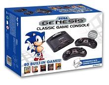 Sega Genesis - Consola Retro Mega Wireless (80 Juegos Arcade Classic Incluidos)