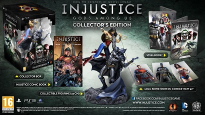 Injustice Gods Among Us Collector's Edition