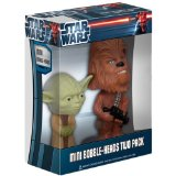 Figura Pop Star Wars  Yoda & Chewbacca