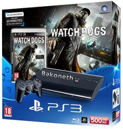 PlayStation 3   Consola 500 GB + Watch Dogs