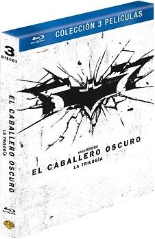 Pack Batman Begins + El Caballero Oscuro + El Caballero Oscuro La Leyenda Renace [Blu-ray]