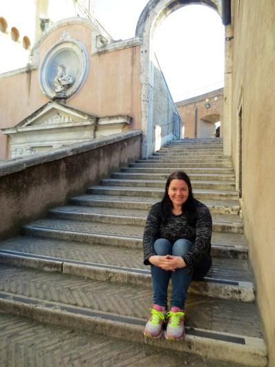 Me at Castel sant'Angelo