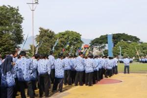Upacara Bendera Peringatan 45 Tahun KORPRI 2016