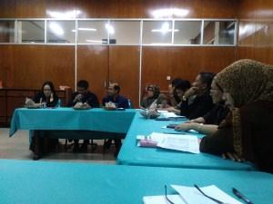Rapat Koordinasi Kepala Bagian dan Sub Bagian Biro AKPIK, Senin, 10-4-2017