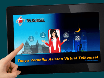Tanya Veronika, Asisten Virtual dari Telkomsel