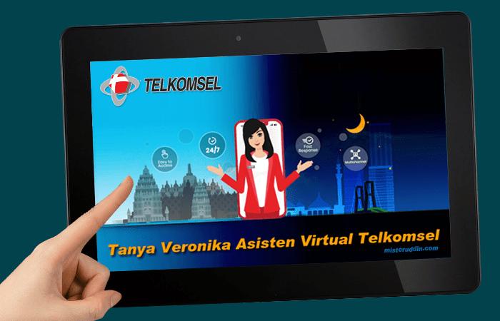 Tanya Veronika, Asisten Virtual dari Telkomsel