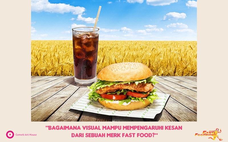 Visualisasi Iklan Fast Food Bakudapan
