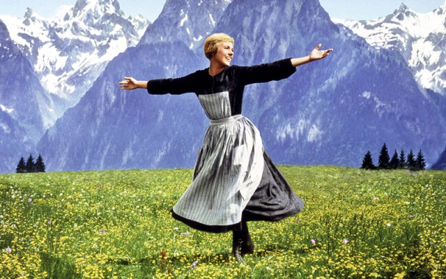 Sound of Music (1965) Julie Andrews Credit: 20th Century Fox/Courtesy Neal Peters Collection