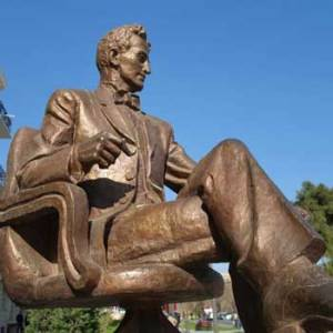 Nikola Tesla Monument Baku, Azerbaijan