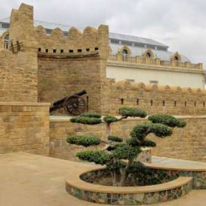 Baku Old City. Ichari Shahar. Walled City Of Baku. Baku Inner City