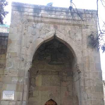 Tuba Shahi mosque. King Tuba Mosque in Baku, Azerbaijan