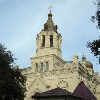 Cathedral of the Holy Myrrh-Bearers Baku. Russian Orthodox Church