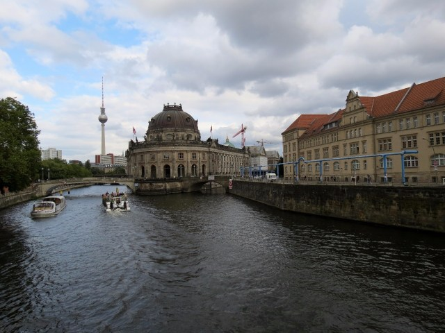 Bode Museum (on Museum Island) with the TV tower in the back