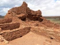 Wupatki National Monument - pueblo ruins