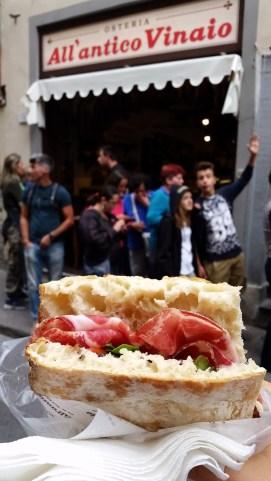 La Dante sandwich at All'Antico
