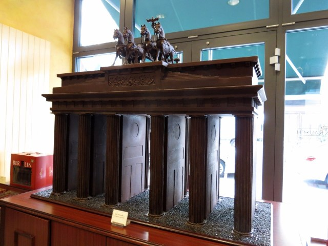A chocolate Brandenburg Gate
