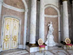 Reception Hall, Carrara marble (Italy)