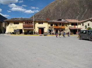 Plaza de Armas Ollanto