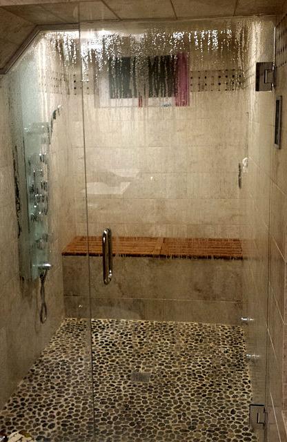 Steam sauna!!!!
