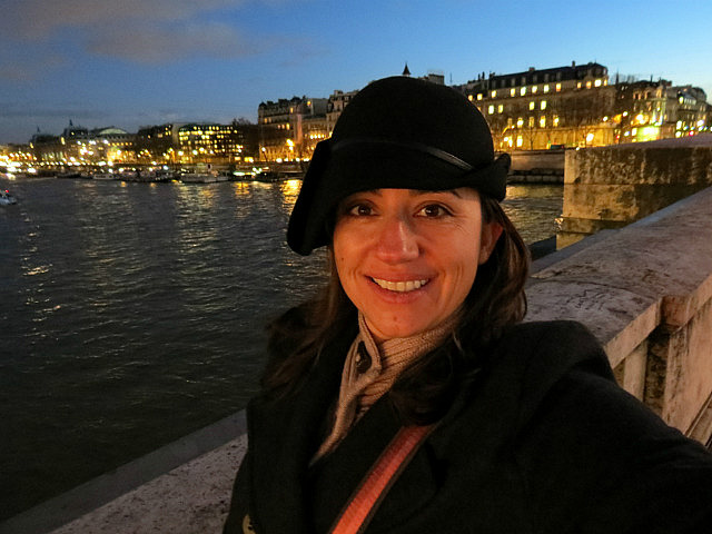 Me and the Seine.