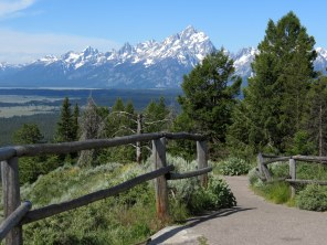 Grand Teton as seen from atop Signal Mountain
