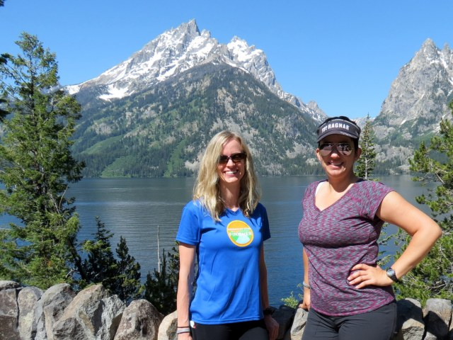 Grand Teton and Jenny Lake