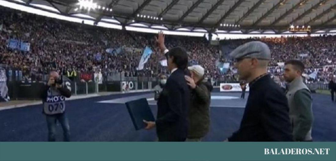 Λάτσιο – Ίντερ: Ο Ιντζάγκι αποθεώθηκε από τους αντίπαλους οπαδούς! (video)