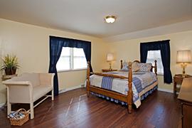 Garden guestroom at the Baladerry Inn, Gettysburg