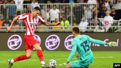 صورة أتلتيكو مدريد يقصي برشلونة من كأس السوبر الإسباني