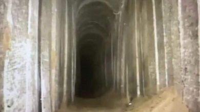 صورة شاهد فيديو | يديعوت: النفق الأخير المكتشف عند حدود غزة هو الأعمق حتى الآن