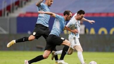 صورة ميسي يعزز رقمه القياسي ويقود الأرجنتين لتجاوز أوروجواي