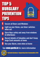 Top 5 Burglary Prevention Tips