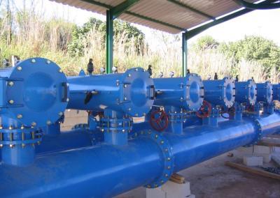 Modernización y mejora de las instalaciones de riego de la CCRR de Guadalén Bajo en el t.m. de Vilches (Jaén).