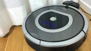 自動お掃除ロボット「ルンバ」は手動でこまめにお掃除すること!