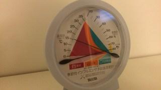 インフルエンザ予防と防カビ対策に温湿度計がオススメです!