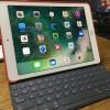 iPadとキーボードはセットで持ち歩こう。SmartKeyboardだとすぐに使える。