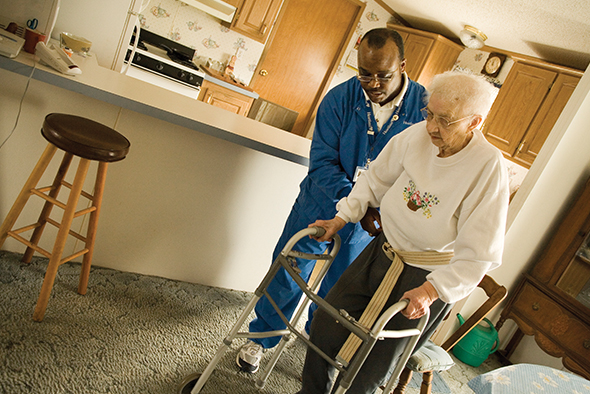 Heartland Home Health Care Helps Patient Get Back on Feet ...