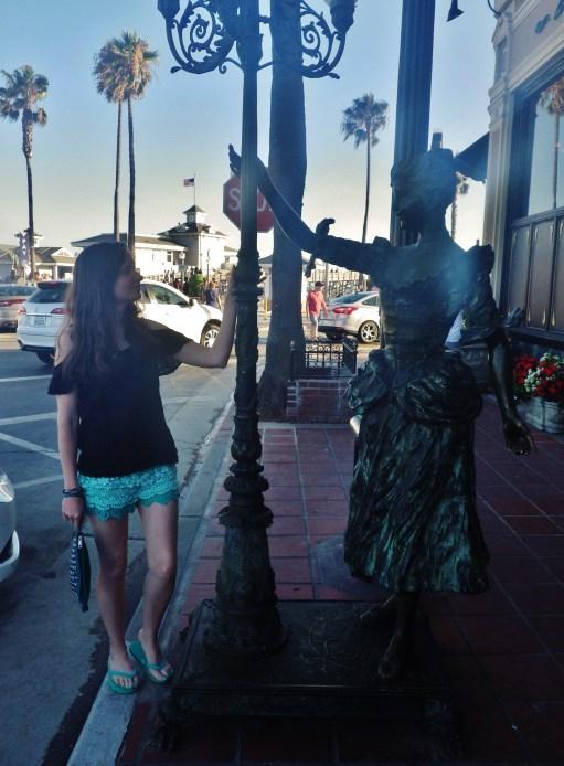 Newport Beach Pier town