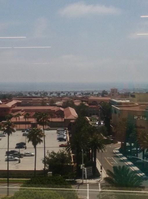View of Fashion Island