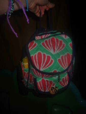 my disney style backpack light