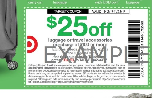 sales at target coupon