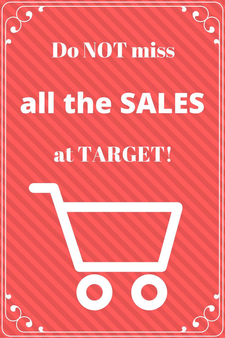sales at target
