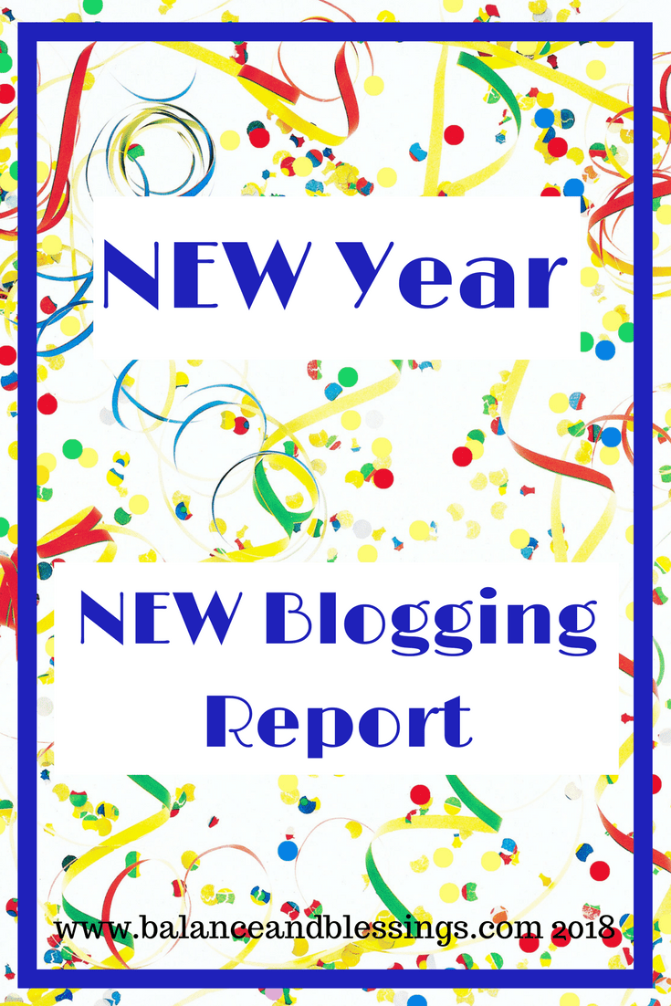 New Year, New blogging Report!