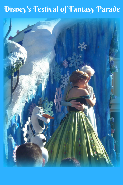 frozen disney parades