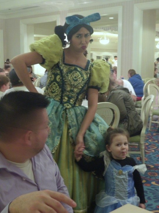 Disney World Character Dining Cinderella sister