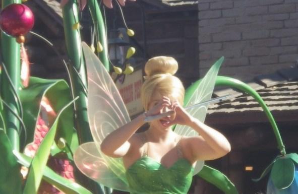 tinkerbell disney parades