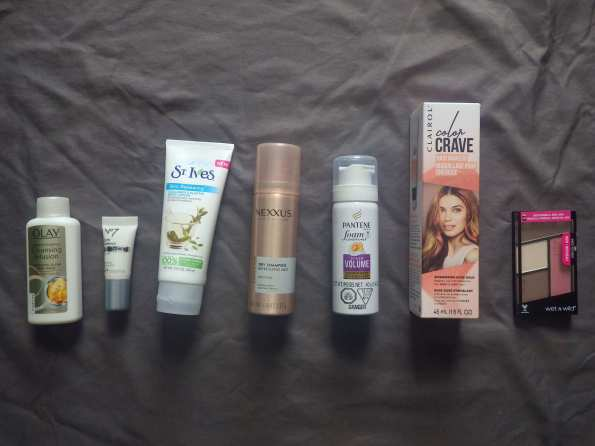 Target Beauty Box products