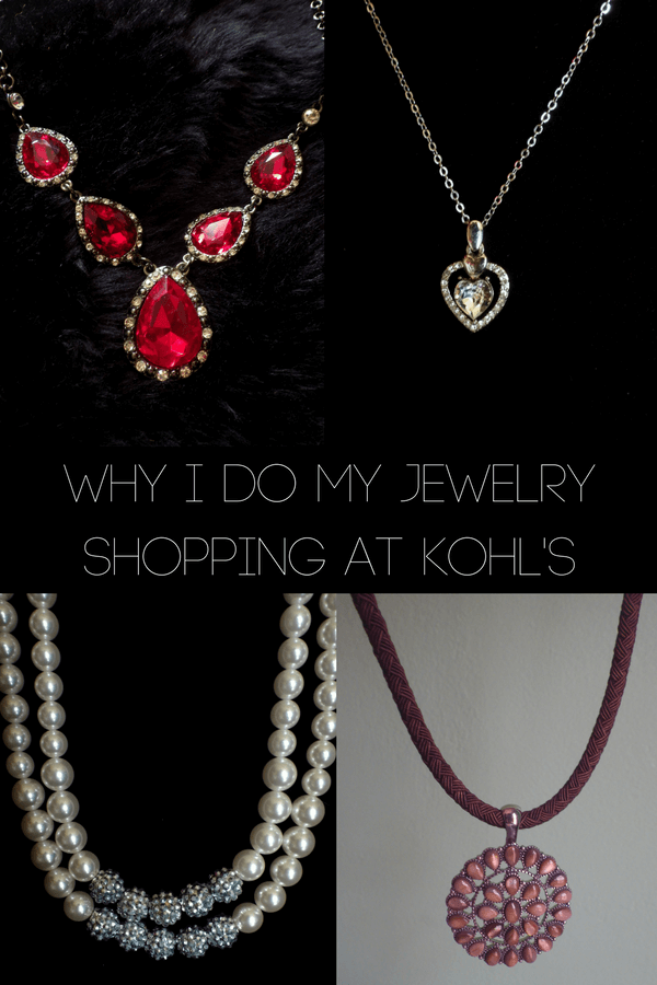 Why I do my Jewelry Shopping at Kohl's
