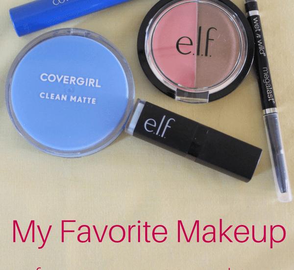 my Favorite Makeup for my Sensitive Skin